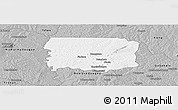 Gray Panoramic Map of Foumbolo