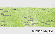 Physical Panoramic Map of Foumbolo