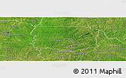 Satellite Panoramic Map of Foumbolo