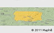 Savanna Style Panoramic Map of Foumbolo