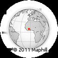 Outline Map of Ferkessedougou