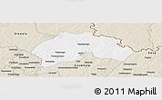 Classic Style Panoramic Map of Ferkessedougou