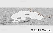 Gray Panoramic Map of Ferkessedougou