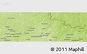 Physical Panoramic Map of Ferkessedougou