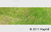 Satellite Panoramic Map of Ferkessedougou
