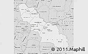 Silver Style Map of Ferkessedougou