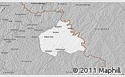 Gray 3D Map of Ouangolodougou