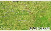 Satellite 3D Map of Ouangolodougou