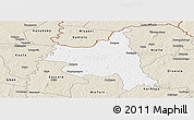 Classic Style Panoramic Map of M'bengue