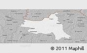 Gray Panoramic Map of M'bengue