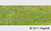 Satellite Panoramic Map of M'bengue