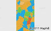 Political Map of Korhogo