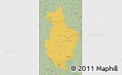 Savanna Style Map of Korhogo