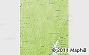 Physical Map of Mankono