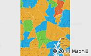 Political Map of Mankono