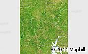 Satellite Map of Mankono