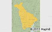 Savanna Style Map of Mankono