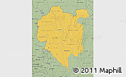 Savanna Style Map of Odienne