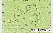Physical Map of Tengrela