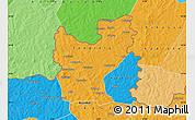 Political Map of Tengrela