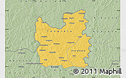 Savanna Style Map of Tengrela