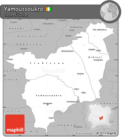 Free Gray Simple Map of Yamoussoukro Yamoussoukro Cote D Ivoire Map on abobo cote d'ivoire map, tripoli libya map, abidjan cote d'ivoire map, africa cote d'ivoire map, kigali rwanda map, ivory coast map, cote d'ivoire capital on map,