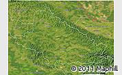 Satellite 3D Map of Bjelovar-Bilogora
