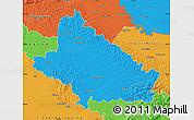 Political Map of Bjelovar-Bilogora