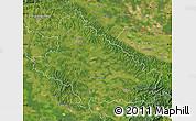 Satellite Map of Bjelovar-Bilogora