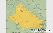 Savanna Style Map of Bjelovar-Bilogora