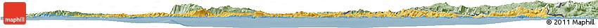 Savanna Style Horizon Map of Dubrovnik-Neretva