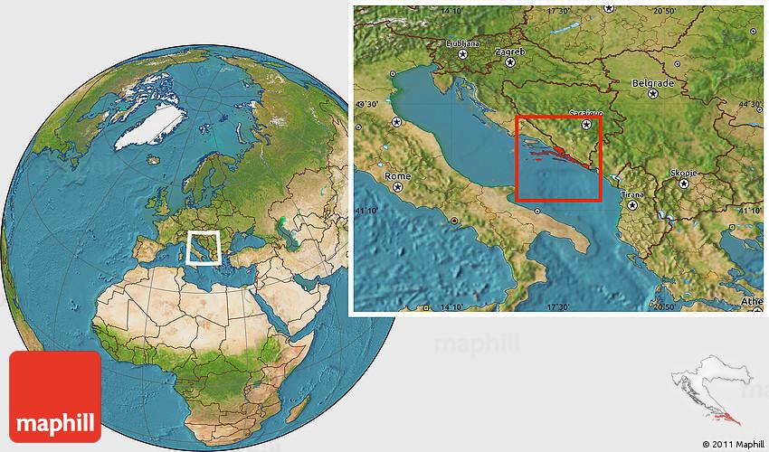 Satellite location map of dubrovnik neretva gumiabroncs Images