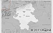 Gray 3D Map of Grad Zagreb