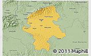 Savanna Style 3D Map of Grad Zagreb