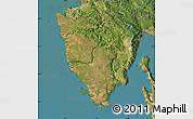 Satellite Map of Istra