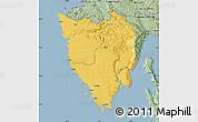 Savanna Style Map of Istra