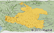 Savanna Style Panoramic Map of Karlovac