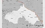 Gray Map of Koprivnica-Krizevci