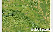 Satellite Map of Koprivnica-Krizevci