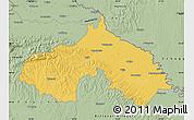 Savanna Style Map of Koprivnica-Krizevci