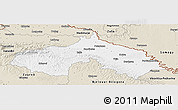 Classic Style Panoramic Map of Koprivnica-Krizevci