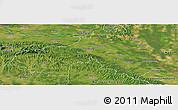 Satellite Panoramic Map of Koprivnica-Krizevci