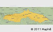 Savanna Style Panoramic Map of Koprivnica-Krizevci