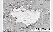 Gray Map of Krapina-Zagorje