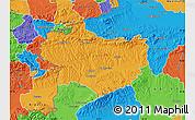 Political Map of Krapina-Zagorje