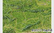 Satellite Map of Krapina-Zagorje