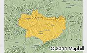 Savanna Style Map of Krapina-Zagorje