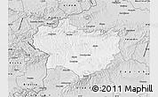 Silver Style Map of Krapina-Zagorje