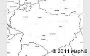 Blank Simple Map of Krapina-Zagorje