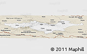 Classic Style Panoramic Map of Pozega-Slavonija